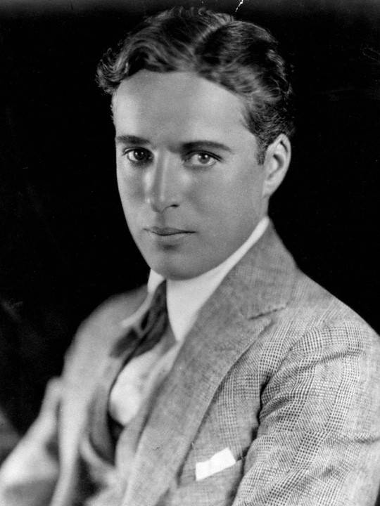 Portrait of Charles Chaplin