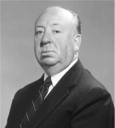 Publicity photo of Alfred Hitchcock