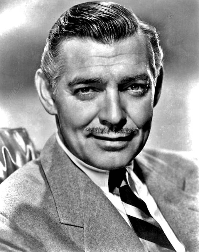 Publicity photo of Clark Gable