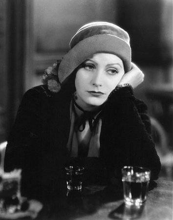Publicity image of Greta Garbo as Anna Christie