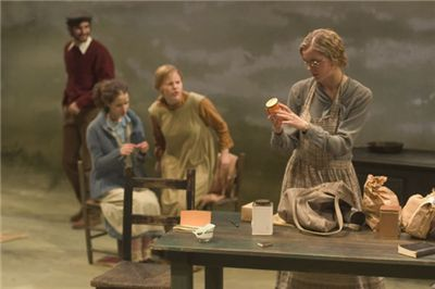 Tisch's undergraduate students perform in a main stage production of Dancing at Lughnasa