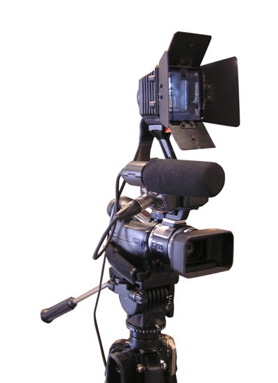 Digital Camera - Proffesional TV recording set