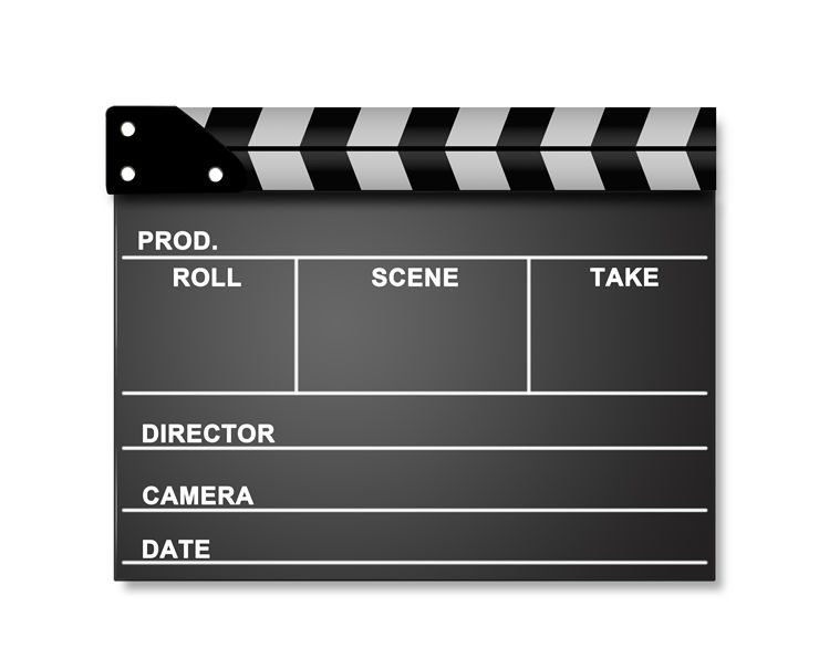Producer clapper board