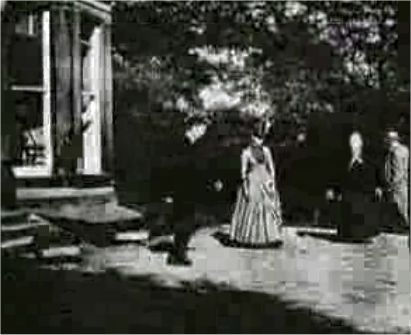 Roundhay Garden Scene 1888, the world's first film