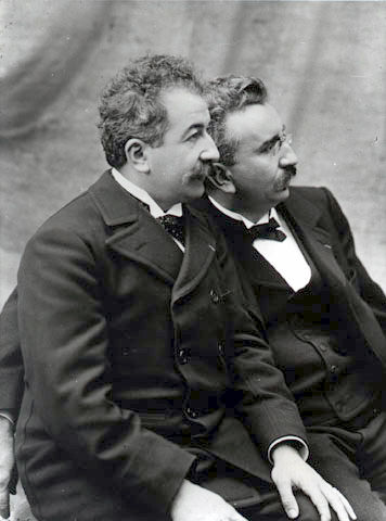 The Lumiere brothers image
