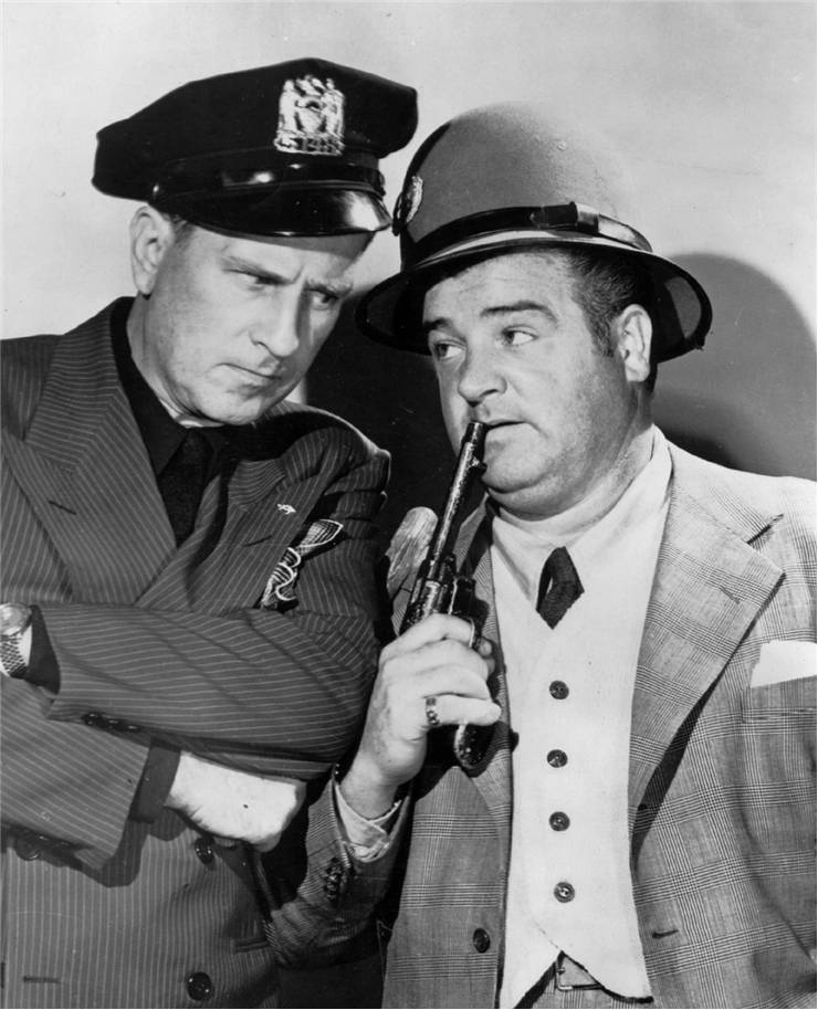 Photo of Bud Abbott and Lou Costello