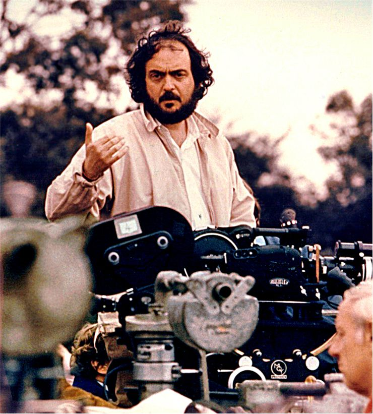 Publicity photo of Stanley Kubrick