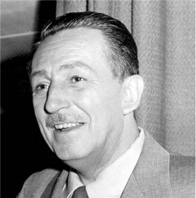 Portrait of Walt Disney