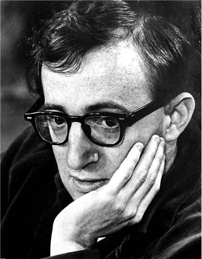 Publicity photo of Woody Allen
