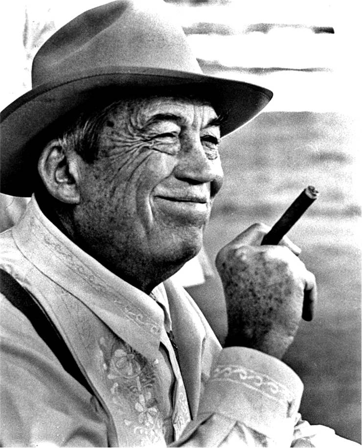 Publicity photo of John Huston