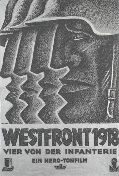 F. Weber Poster for Westfront 1918 (1930)